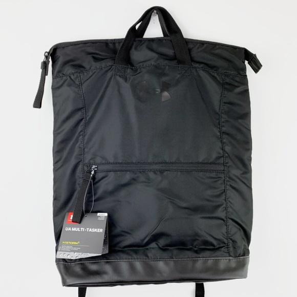 Under Armour Handbags - Under Armour Multi Tasker Tote Backpack Black